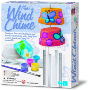 this is an image of paint your own wind chimes set
