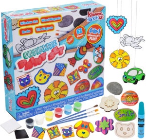 this is an image of a kids painting set