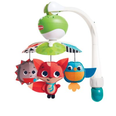 This is an image of a take along mobile toy for babies. lonh