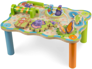 this is an image of a melissa & doug activity table