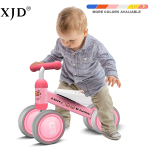 this is an image of a baby balance bike
